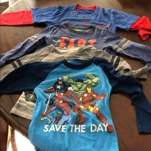 Other - Four Boys shirts, Longsleeve all size 4T